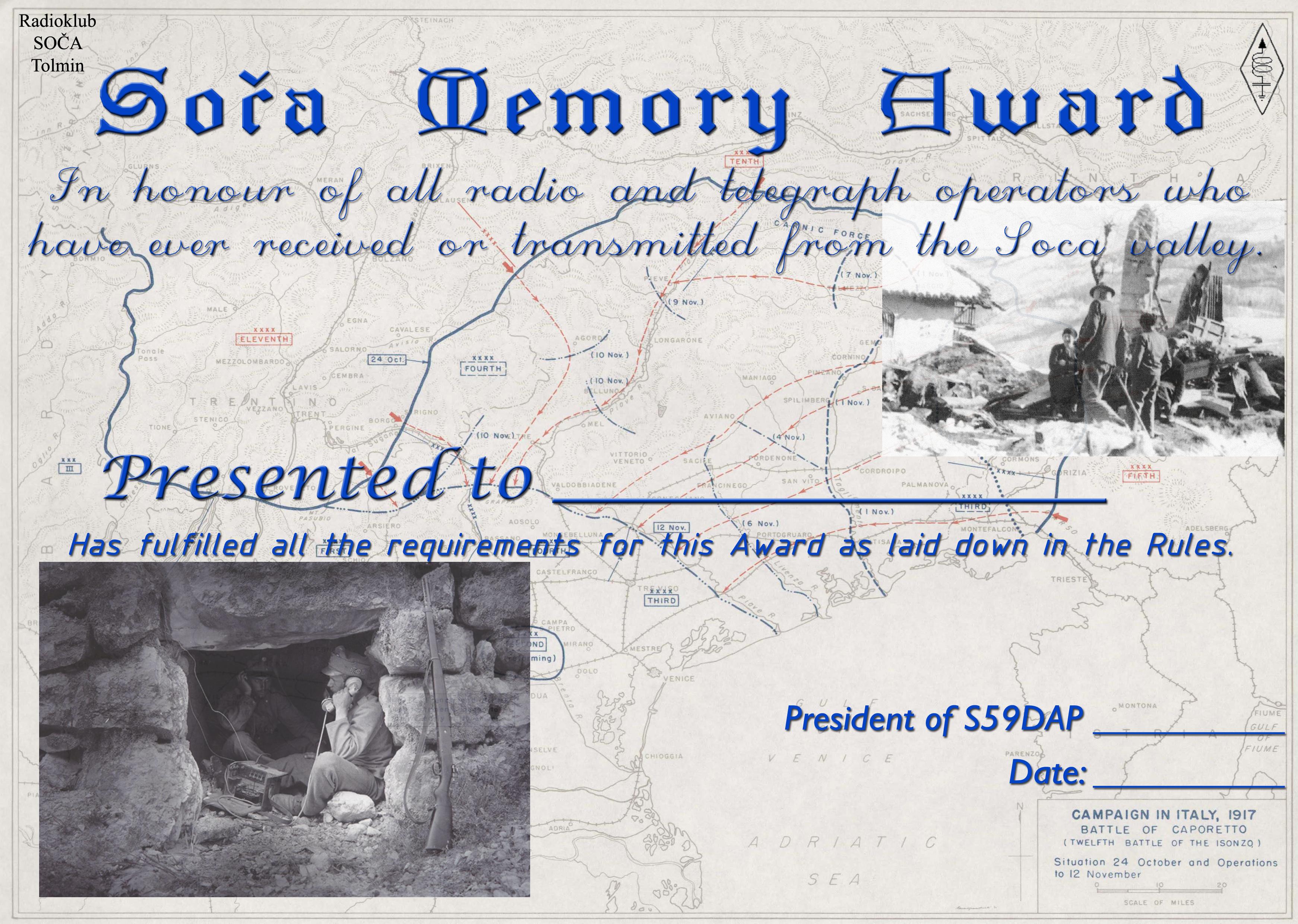 diploma soca memory
